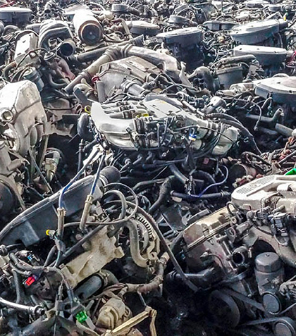 silniki aut po kasacji
