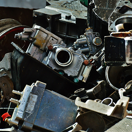bloki silników z demontażu