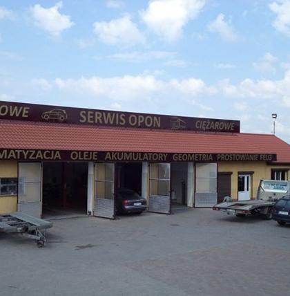 siedziba firmy Auto Kurek