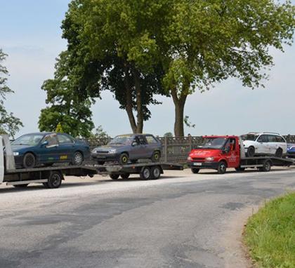 skup samochodów na złom - kasacja pojazdów