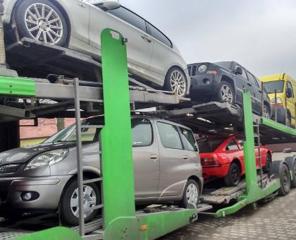 skup aut do afryki