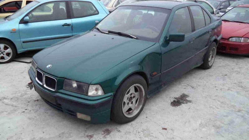 Zielone BMW