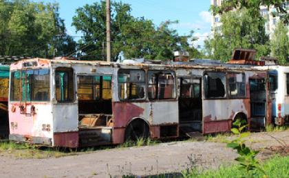 złomowanie autobusów